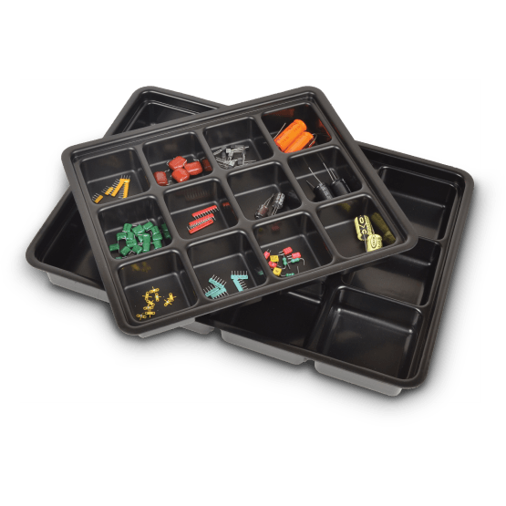 Conductive Component Handling Tray