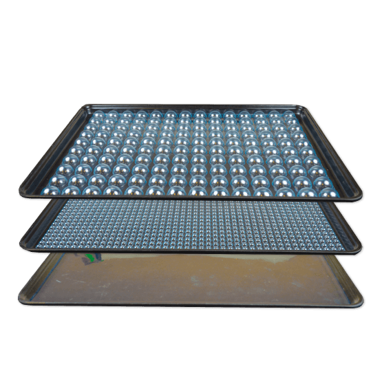 KleanStat Bubble Lined ESD Safe Trays